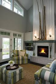 fireplace mantel decor for a contemporary living room with a built in furniture and 21st century built furniture living room