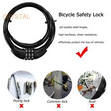 [COD] <b>Code Password Bike</b> Combination Cable Lock Steel Wiring ...