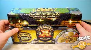 "<b>Treasure X</b> Сундук Сокровищ Мега <b>набор</b> ""В поисках сокровищ ..."