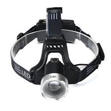 HKV Zoom Sensor LED Headlight Induction Waterproof <b>USB</b> ...