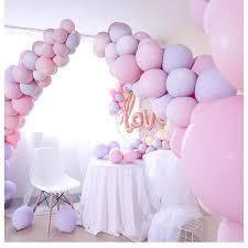 Unicorn Party <b>100pcs 10inch Macaron Color</b> Latex Balloon Wedding ...