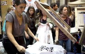 Screen-<b>printing</b> Lebanon's revolution | Arts & Ent , Culture | THE ...