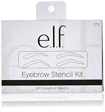 e.l.f. Cosmetics Eyebrow Stencil Kit for Perfectly ... - Amazon.com
