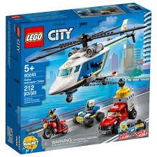 Конструктор LEGO City Police Погоня на полицейском ... - ROZETKA