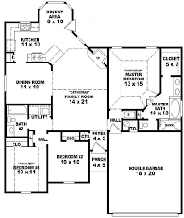 Story House Plans Bed   Free Download House Plans And Home    One Story Bedroom Bath House Plans on story house plans bed