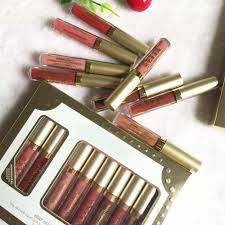 Makeup <b>Liquid</b> Lipstick <b>Matte</b> metal Lipgloss <b>8pcs Set</b> stay all day ...