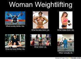 Lifting doesn't make you bulky, it makes you sexy! | Grind time ... via Relatably.com