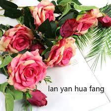 High <b>Artificial Flower</b> Single Hand <b>MoiSturizing</b> Gel <b>Rose</b> | Shopee ...