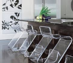 acrylic furniture plexi craft acrylic z bar stools with dark stained island by designer acrilic furniture
