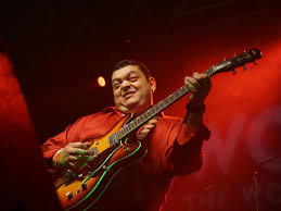 music com honduran guitarist guayo cedentildeo stepped into the limelight the first night of the world music expo