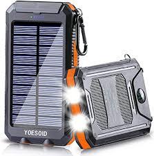 Solar Charger 20000mAh YOESOID Portable Solar ... - Amazon.com