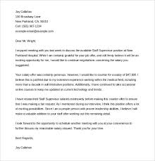 offer letter template –   free word  pdf documents download    livecareer com   negotiations are an important parameter during acceptance of any job profiles in an organization  counter offer letter should be drafted in