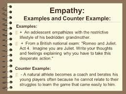 empathy essay how to write a good empathy essay   essay topics empathy examples and counter example