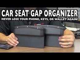 <b>Car Seat Gap</b> Organizer on Everyman Driver - YouTube