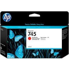 <b>HP 745</b> (F9K00A) <b>Chromatic</b> Red Original Ink Cartridge (130 ml ...