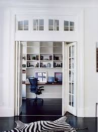 bifold glass door to office transom window from architectural salvage architects sliding door office