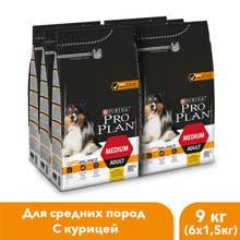 <b>Сухой корм Pro Plan</b> для взрослых собак средних пород с ...