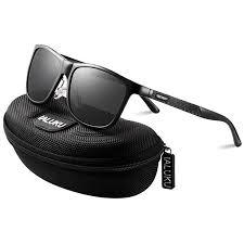 IALUKU <b>Retro Driving</b> Wayfarer <b>Polarized Sunglasses</b> for <b>Men</b> Metal ...
