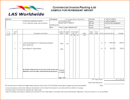 5 sample packing list authorization letter commercial invoice packing list pdf by qlc15660