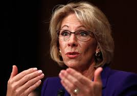 gop pushing price sessions devos a step toward senate ok times file in this jan 17 2017 file photo education secretary nominee b devos testifies on capitol hill in washington republicans are muscling more of