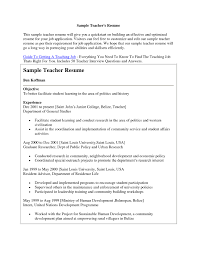 how to write a resume for a teaching job samples of resumes update 895 sample resume for applying teaching job 45 documents djui8 how to write a