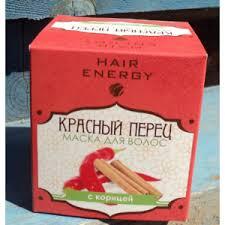 <b>Маска для волос</b> Hair Energy <b>Красный</b> перец с корицей | Отзывы ...