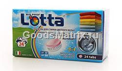 """<b>таблетки для стирки цветного</b> белья тм """"<b>lotta</b>"""" (<b>лотта</b>), 24 шт"""