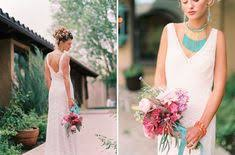 Southwestern Wedding <b>Fashion</b> Inspiration | WEDDING <b>BOUQUETS</b> ...