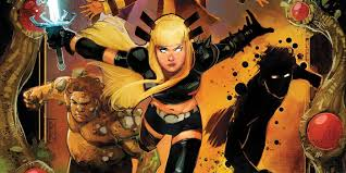Marvel's X-Men Reboot Sends The NEW MUTANTS Into Space