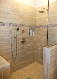 layouts walk shower ideas: painting of compact and accessible bathroom ideas with walk in showers with no door