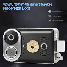 Buy Generic-<b>WF</b>-<b>014B</b> Smart Double Fingerprint Lock Stainless ...