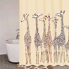 <b>Штора для ванной</b> комнаты, 180*200 см, полиэстер, Safari ...
