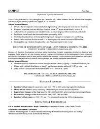 s executive resume senior s executive resume