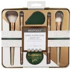 Купить <b>набор для макияжа</b> Ecotools <b>Warm</b> Winter Glow Beauty <b>Kit</b> ...