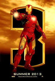 Poster Iron Man 3  ( El Hombre de Hierro 3) PELICULA