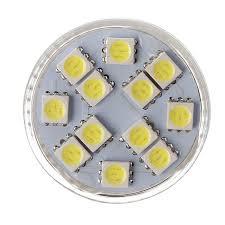 Bazaar <b>MR11 LED Bulb</b> 2.5W 12 SMD 5050 Warm White/White AC ...