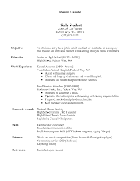 Resume For Jobs  resume for a part time job   template  breakupus