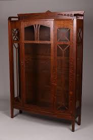 sawn oak mission craftsman entertainment armoire view