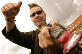 Still playing the rebel: <b>Nigel Kennedy</b> is back and he's showing no ...