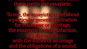 kevin b lee on vimeo the essay film some thoughts of discontent essay film