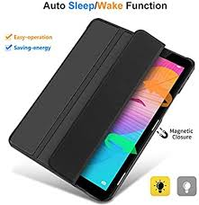 IVSO <b>Cover Case</b> for HUAWEI MatePad T8, Slim <b>PU Cover Case</b> for ...