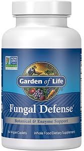 Garden of Life <b>Fungal Defense</b>, <b>84</b> Caplets: Amazon.ca: Sports ...