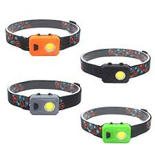<b>COB LED Headlamp</b> Flashlight, Running Headlamp with 3 Lighting ...