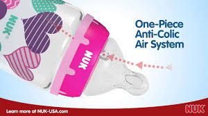 NUK® <b>Bottle</b> with the <b>Perfect Fit</b>™ Nipple - YouTube