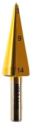 <b>Сверло</b> конусное, по <b>металлу ПРАКТИКА</b> 774-498 P6M6 14 мм ...