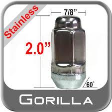 Automotive Parts & Accessories <b>14mm</b> Gorilla Automotive 96107SS ...