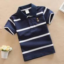 Летняя мода 2020, <b>Детская рубашка поло</b> для мальчиков, топы ...