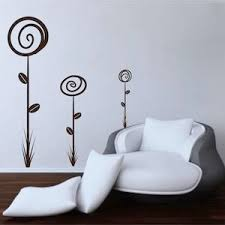 sun wall decal trendy designs: loopy flower wall decals trendy wall designs