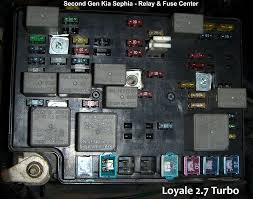 need picture of relays in engine fuse box kia forum on my wife s kiastein note how the relays are placed