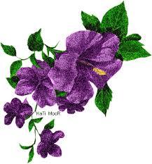 Znalezione obrazy dla zapytania kwiatek gif